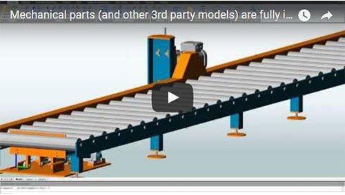 Découvrez comment il est facile d'intégrer des pièces mécaniques (ou tout autre composant 3D) dans votre modèle Advance Steel