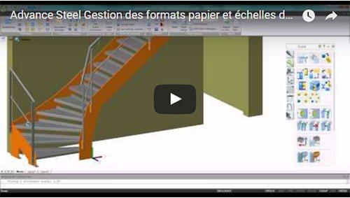 Gestion des formats papier et échelles dans les process