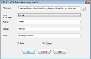 GRAITEC Autodesk Advance Steel | Formats d'échange de fichiers