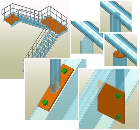 GRAITEC Autodesk Advance Steel | Serrurerie